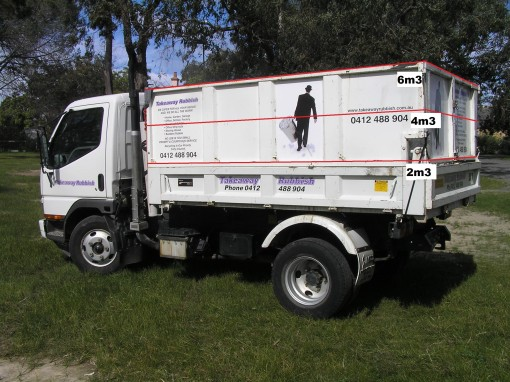Takeaway's Rubbish Removal Truck